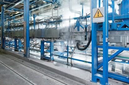 BREL automation-production-plant